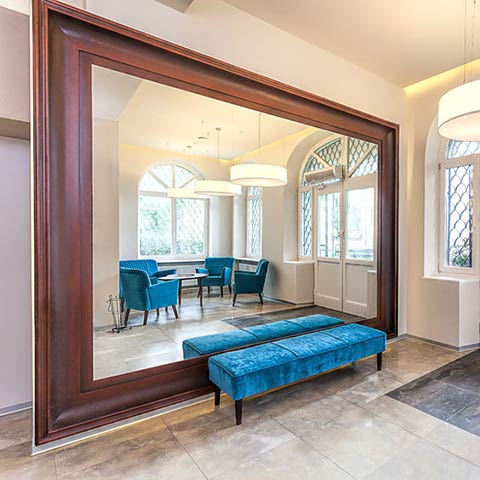 residential glass mirrors