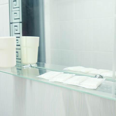 residential glass shelves
