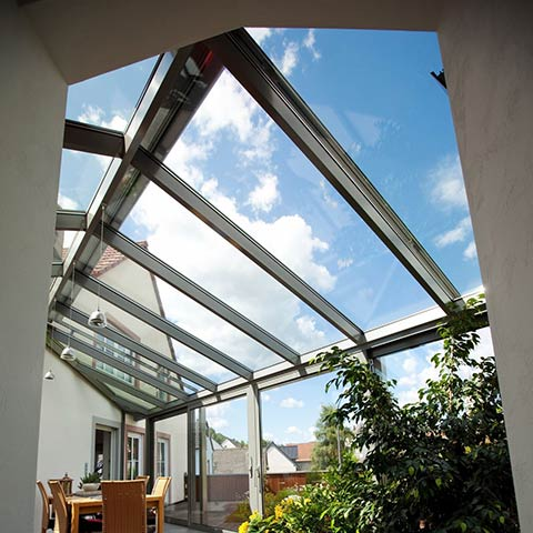 residential glass skylights