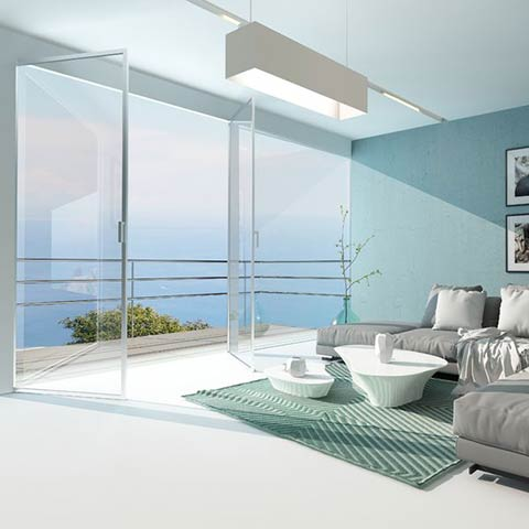residential glass walls and doors