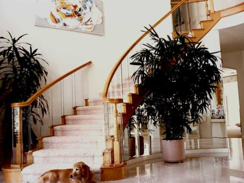 Beautiful Glass Railings from Los Angeles Westoaks Glass and Mirrors