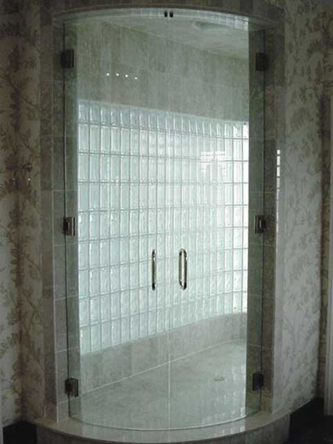 Frameless Glass Shower Doors at Westoaks Glass and Mirrors in Los Angeles