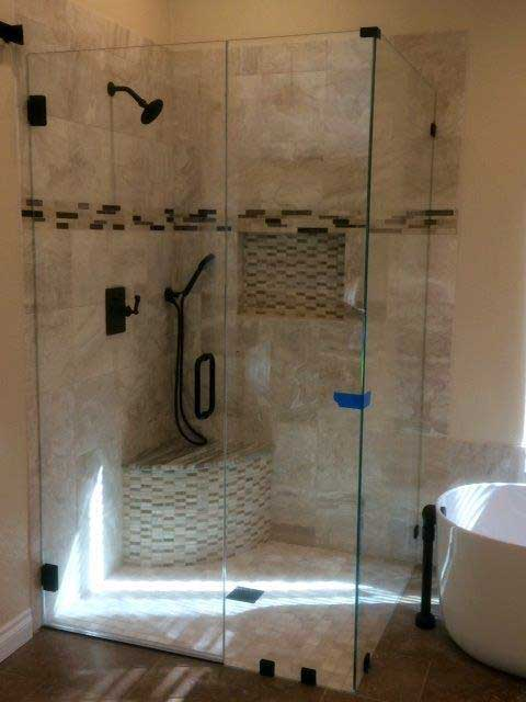 Checkout Range of Glass Shower Doors in Los Angeles from Westoaks Glass and Mirrors