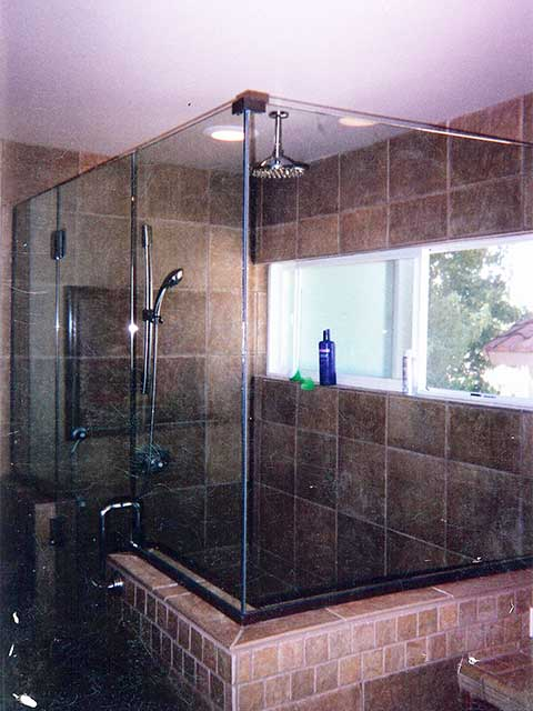 Frameless Glass Shower Doors available at Westoaks Glass and Mirrors in LA