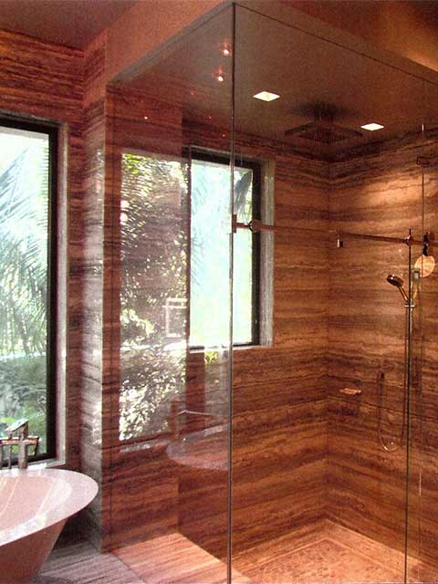 Westoaks Glass Shower Doors Frameless in Los Angeles