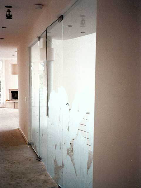 Custom Glass Wall Designs by Westoaks in Los Angeles