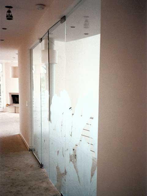 Custom Glass Wall Designs by Westoaks in Los Angeles