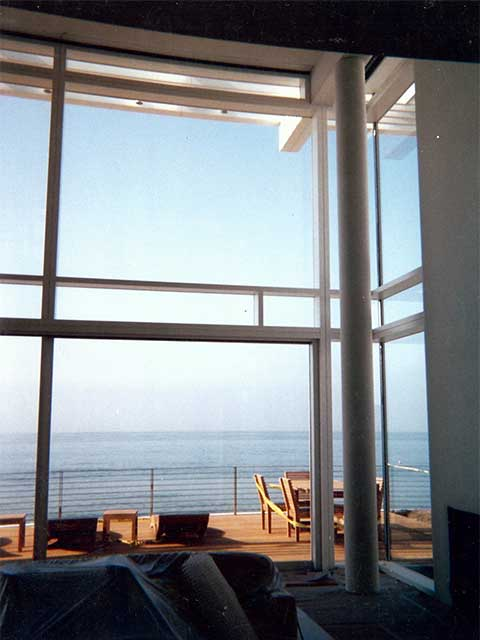 Residential Glass Wall Designs by Westoaks Glass and Mirrors in Los Angeles