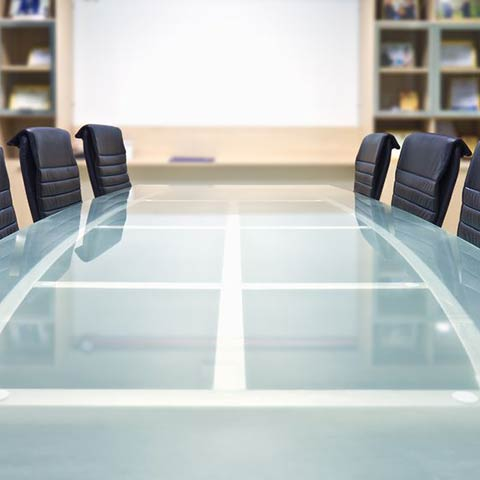 commercial glass conference tables