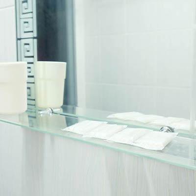 residential glass shelves photos