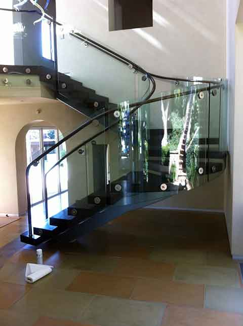 Buy Glass Railings from Westoaks Glass and Mirrors at Los Angeles